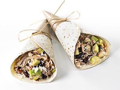 Recette wrap, burrito, PassionFroid, fournisseur alimentaire, restauration commerciale, fast-food, snack, restaurant
