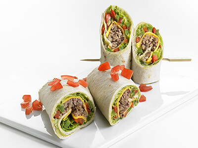 Recette wrap, con carne, PassionFroid, fournisseur alimentaire, restauration commerciale, fast-food, snack, restaurant
