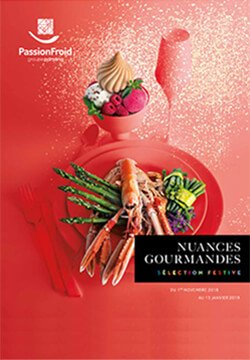 Nuances gourmandes - PassionFroid distributeur alimentaire en restauration commerciale