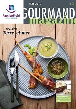 Le gourmand magazine mai - PassionFroid distributeur alimentaire pour la restauration collective