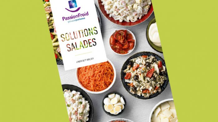 Catalogue salades, PassionFroid, fournisseur alimentaire, Restauration collective, restauration commerciale