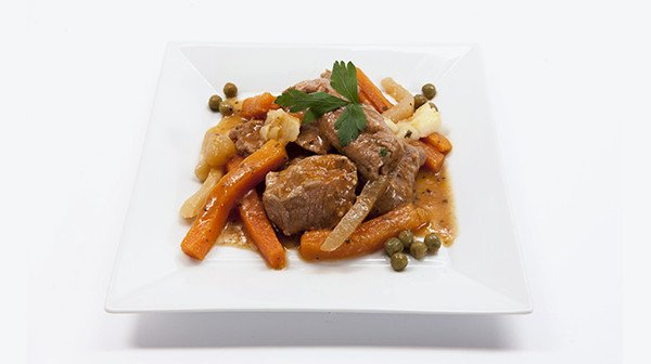 Plat cuisiné multiportion