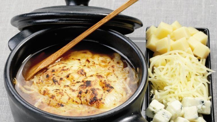 Consomme de volaille gratine aux 3 fromages - 142 - PassionFroid - Grossiste alimentaire