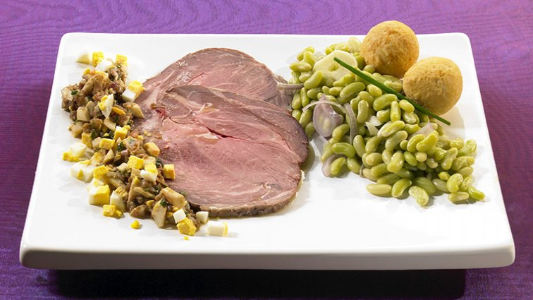 Gigot d'agneau Pascal - 1065 - PassionFroid - Grossiste alimentaire