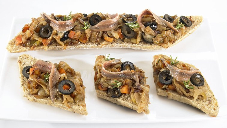 Tartine pissaladiere - 438 - PassionFroid - Grossiste alimentaire