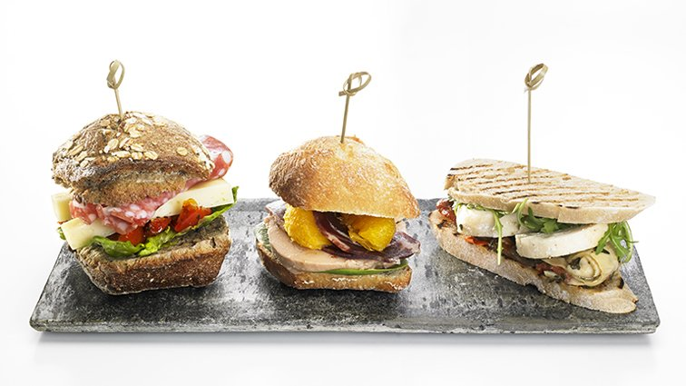 Trio de mini sandwichs - 871 - PassionFroid - Grossiste alimentaire