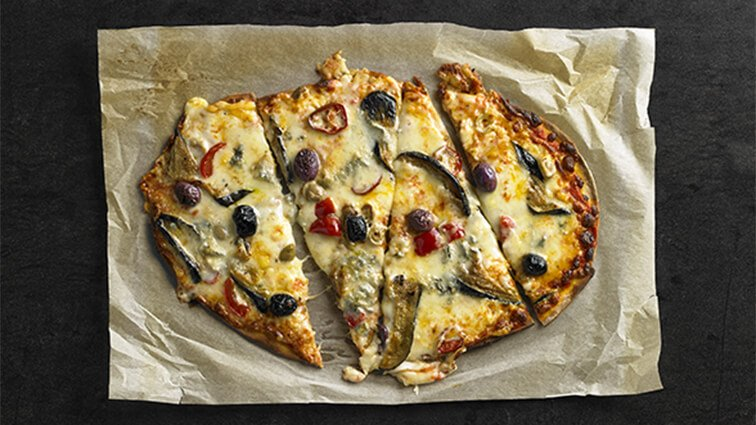 Pizza 4 fromages - 2016 - PassionFroid - Grossiste alimentaire