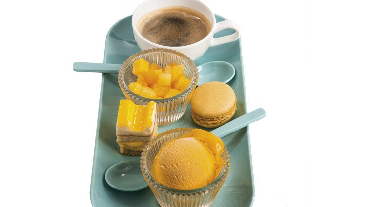 Cafe gourmand glace exotique - 951 - PassionFroid - Grossiste alimentaire