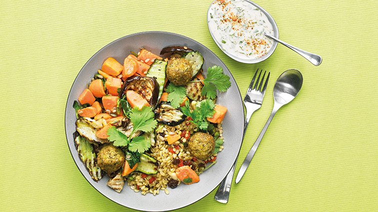 Buddha bowl butternut falafel - 2198 - PassionFroid - Grossiste alimentaire