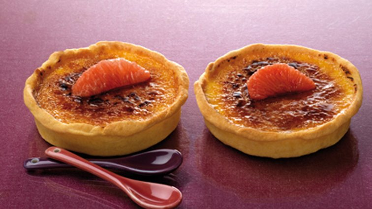Tartelette creme brulee pamplemousse - 673 - PassionFroid - Grossiste alimentaire