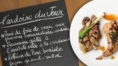 Idée Menu Du Jour Idées de menus pour les professionnels de la restauration