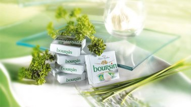 Boursin ail & fines herbes 39% MG 16 g - 0019106 - PassionFroid - Grossiste alimentaire
