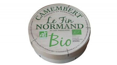 Camembert BIO 22% MG 250 g Le Fin Normand - 0170476 - PassionFroid - Grossiste alimentaire