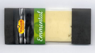 Emmental preemballe 28,5% MG 25 g Vergeer Holland - 0042715 - PassionFroid - Grossiste alimentaire