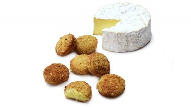 Bouchee camembert 20 g env. McCain Cheese Pickers - 0160981 - PassionFroid - Grossiste alimentaire