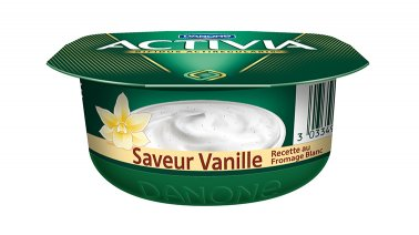 Activia recette au fromage blanc saveur vanille 120 g Danone - 0155719 - PassionFroid - Grossiste alimentaire
