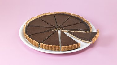 Tarte au chocolat predecoupee 10 parts 750 g - 0033248 - PassionFroid - Grossiste alimentaire