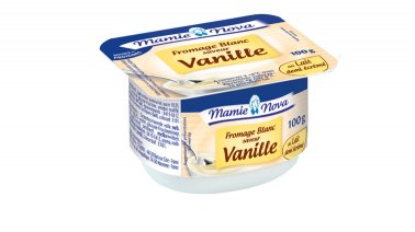Fromage blanc saveur vanille 2,7% MG 100 g Mamie Nova - 0152310 - PassionFroid - Grossiste alimentaire
