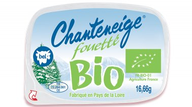 Chanteneige fouette nature BIO 23% MG 16,66 g Bel - 0206399 - PassionFroid - Grossiste alimentaire
