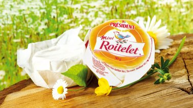 Mini Roitelet 29% MG 30 g President - 0008444 - PassionFroid - Grossiste alimentaire