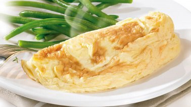 Omelette fromage salee fraiche ODF 135 g Cocotine - 0207690 - PassionFroid - Grossiste alimentaire