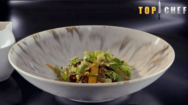 Boeuf en tataki, bouillon a la citronnelle (Mohamed, Top Chef 2021) - 2289 - PassionFroid - Grossiste alimentaire