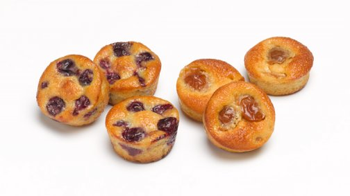 Assortiment de mini clafoutis 20 g x 64 - 1,28 kg - 0098701 - PassionFroid - Grossiste alimentaire