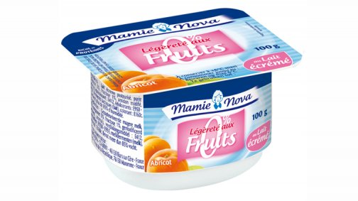 Fromage blanc aux fruits parfums panaches 0% MG 100 g Mamie Nova - 0058348 - PassionFroid - Grossiste alimentaire