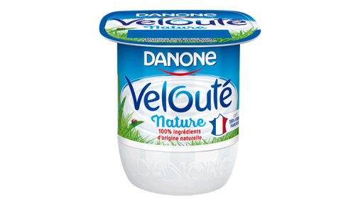 Yaourt veloute nature 125 g Danone - 0192137 - PassionFroid - Grossiste alimentaire