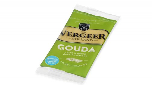 Gouda preemballe 30% MG 30 g - 0022168 - PassionFroid - Grossiste alimentaire