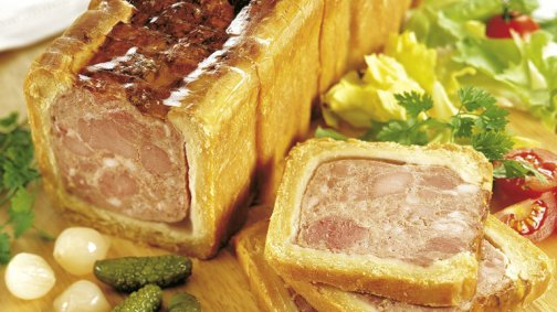 Pate croute tranche 20 x 65 g env. - 0068158 - PassionFroid - Grossiste alimentaire
