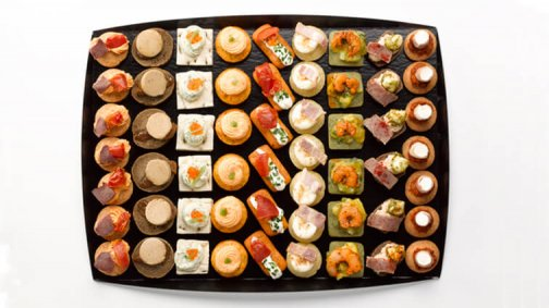 Canapes tentation x 57 - 600 g - 0008770 - PassionFroid - Grossiste alimentaire