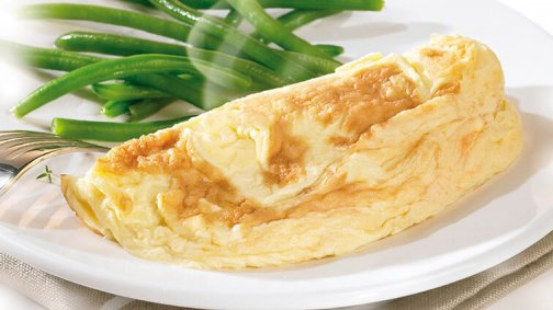 Omelette fromage salee fraiche ODF 90 g Cocotine - 0206568 - PassionFroid - Grossiste alimentaire